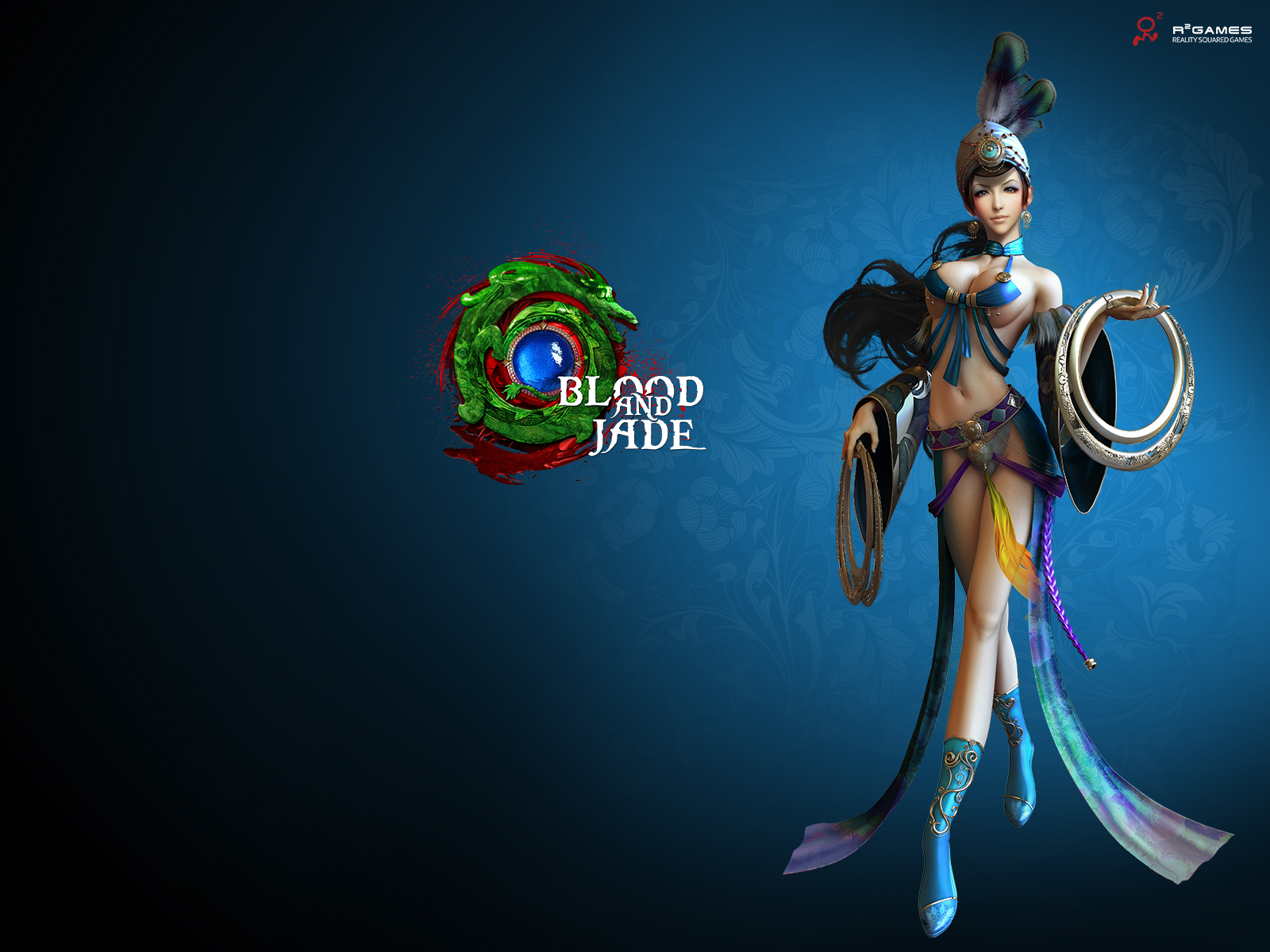 Blood and jade girl hot sexy wallpapers sexy toons