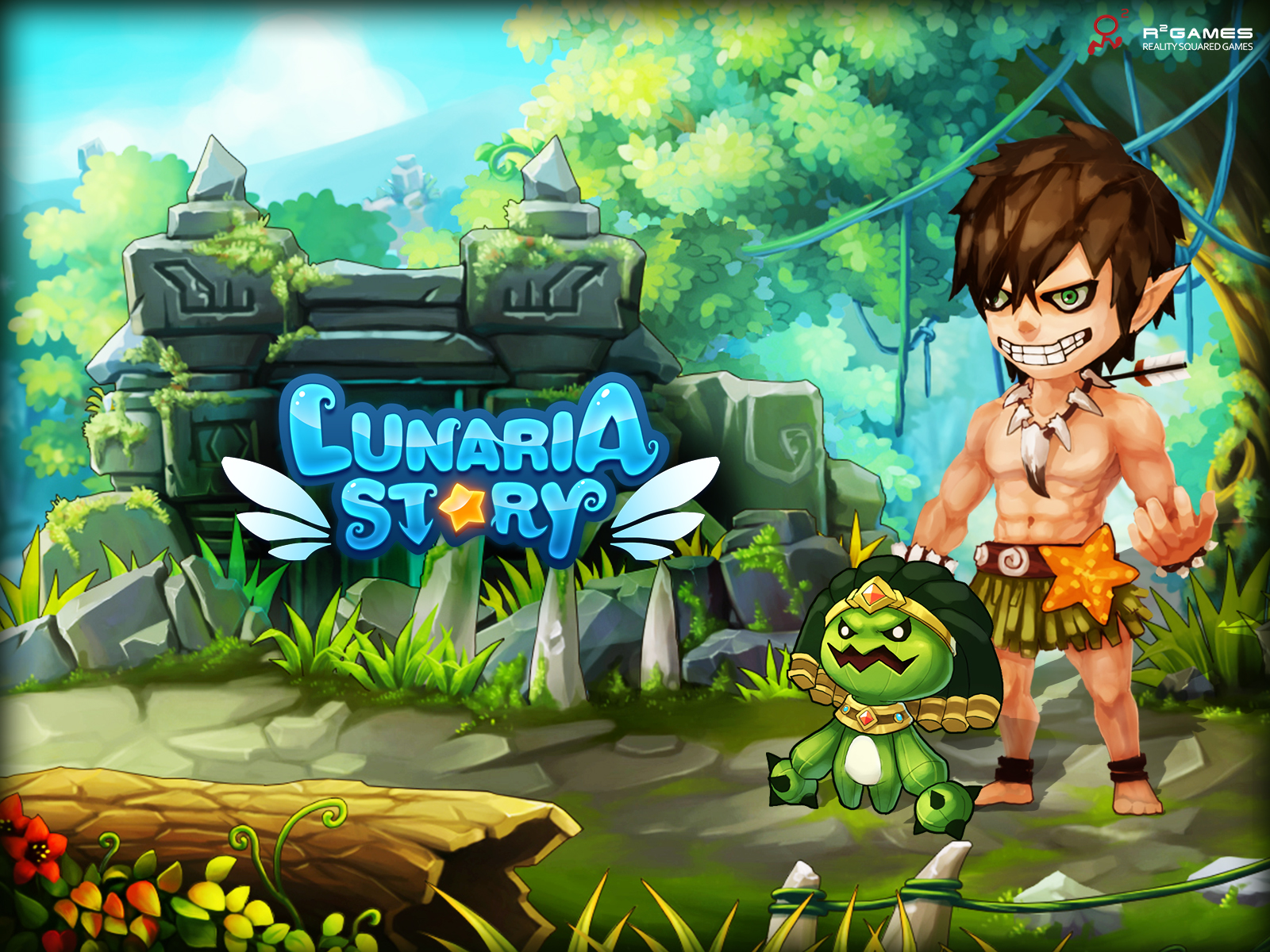 Lunaria Story Official Site 2d Side Scrolling Mmorpg Free To Play